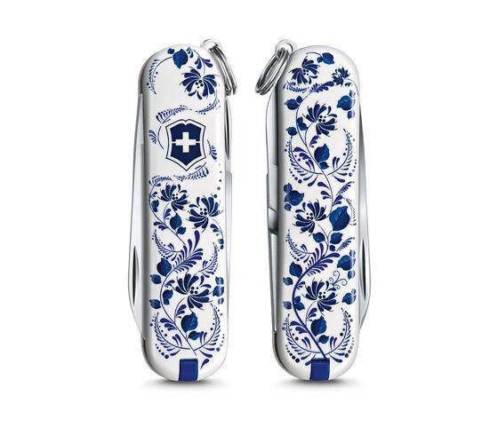 """Victorinox CLASSIC LIMITED EDITION 2021, """"PATTERNS OF THE WORLD"""" Porcelain Elegance"""
