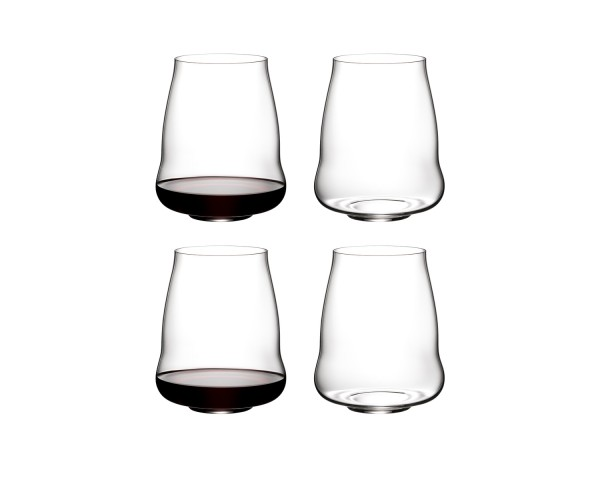 RIEDEL STEMLESS WINGS RETAIL PINOT NOIR 4 PACK